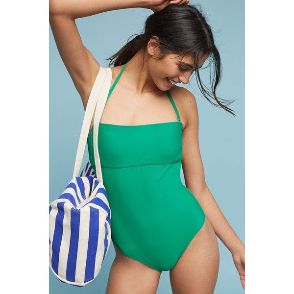 Allihop Convertible One Piece Swimsuit 70 Liked On Polyvore Featuring Swimwear One Piece Swimsuits Kelly One Pie One Piece One Piece Swimsuit Swimsuits