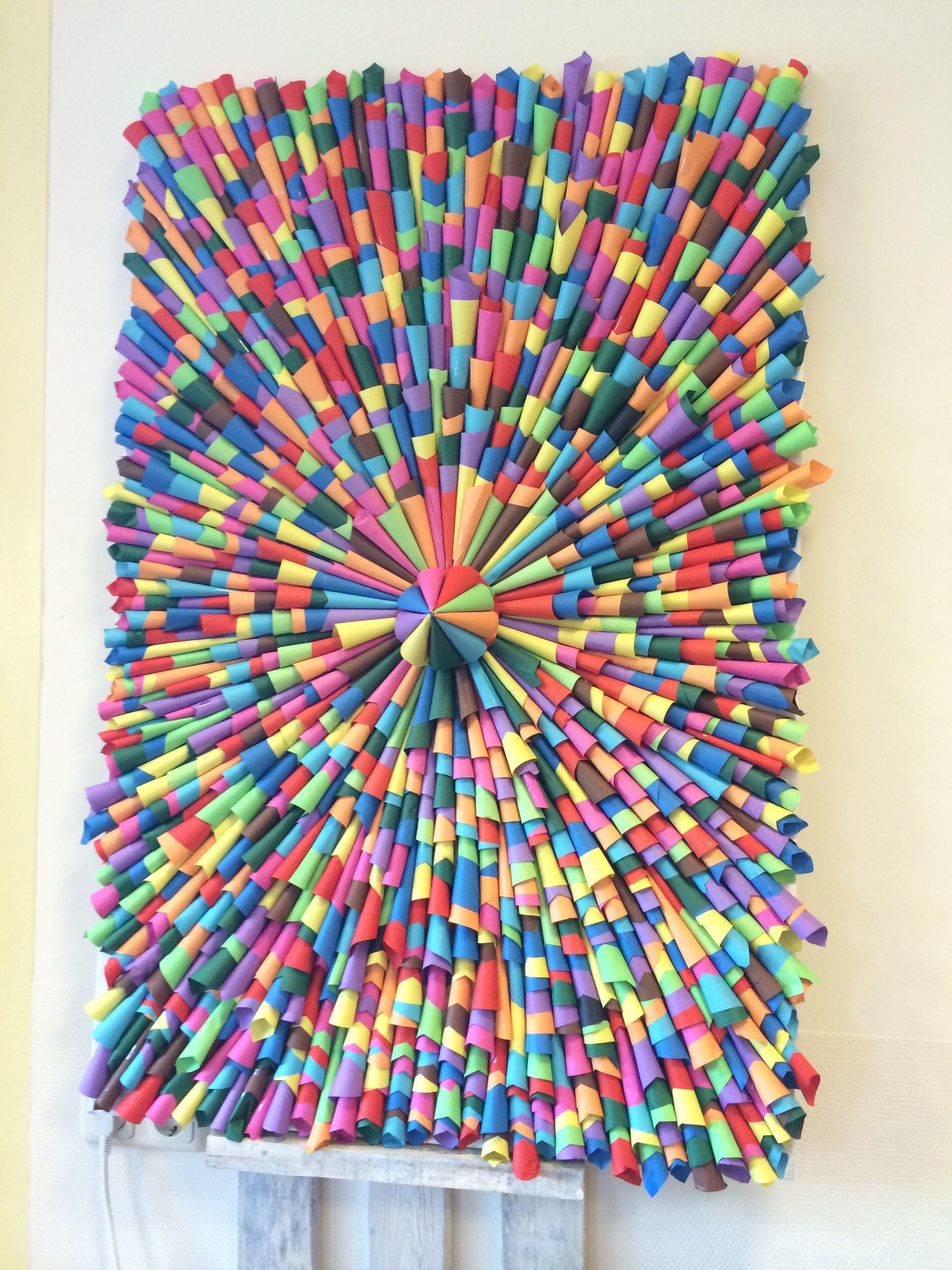 Vaak Creatief met papier bij Kinderopvang Meijel | Ideeën voor het huis &VD41