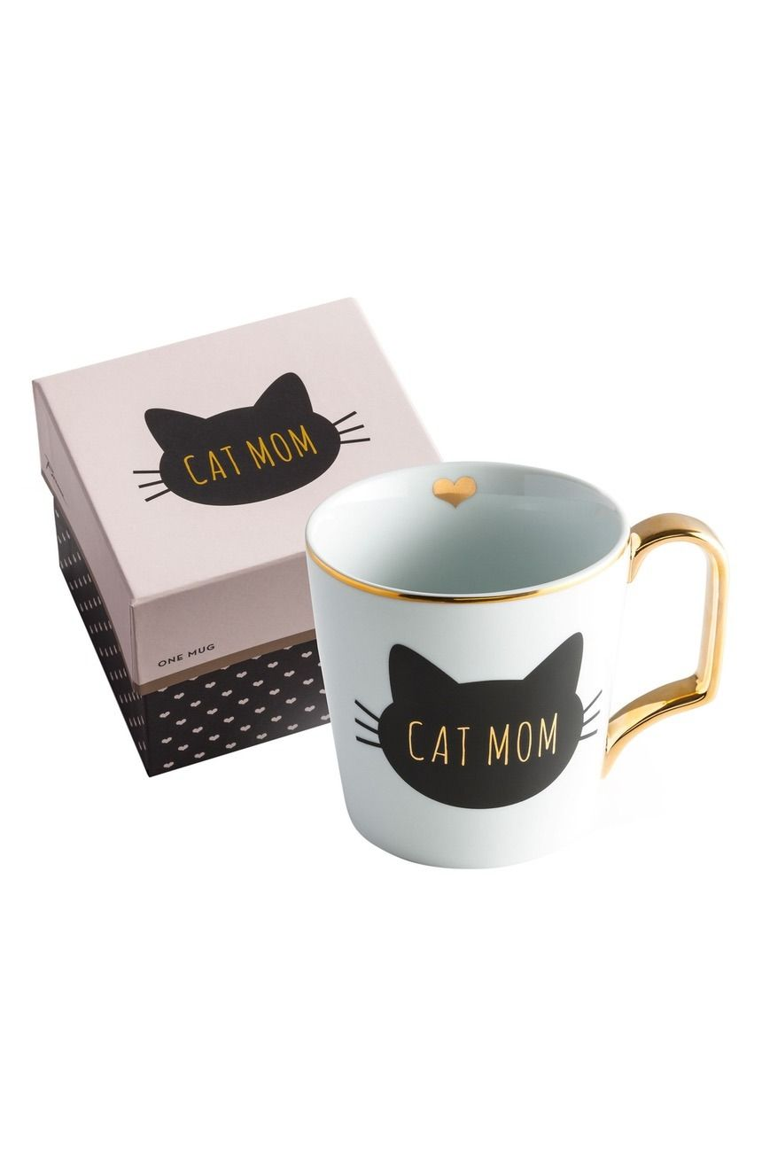 how cute is this mug that is perfect for all cat lovers? | fashion