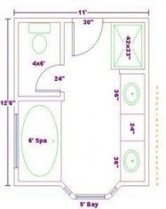 67 Best ideas for bathroom layout 7x10 #bathroom (With ...