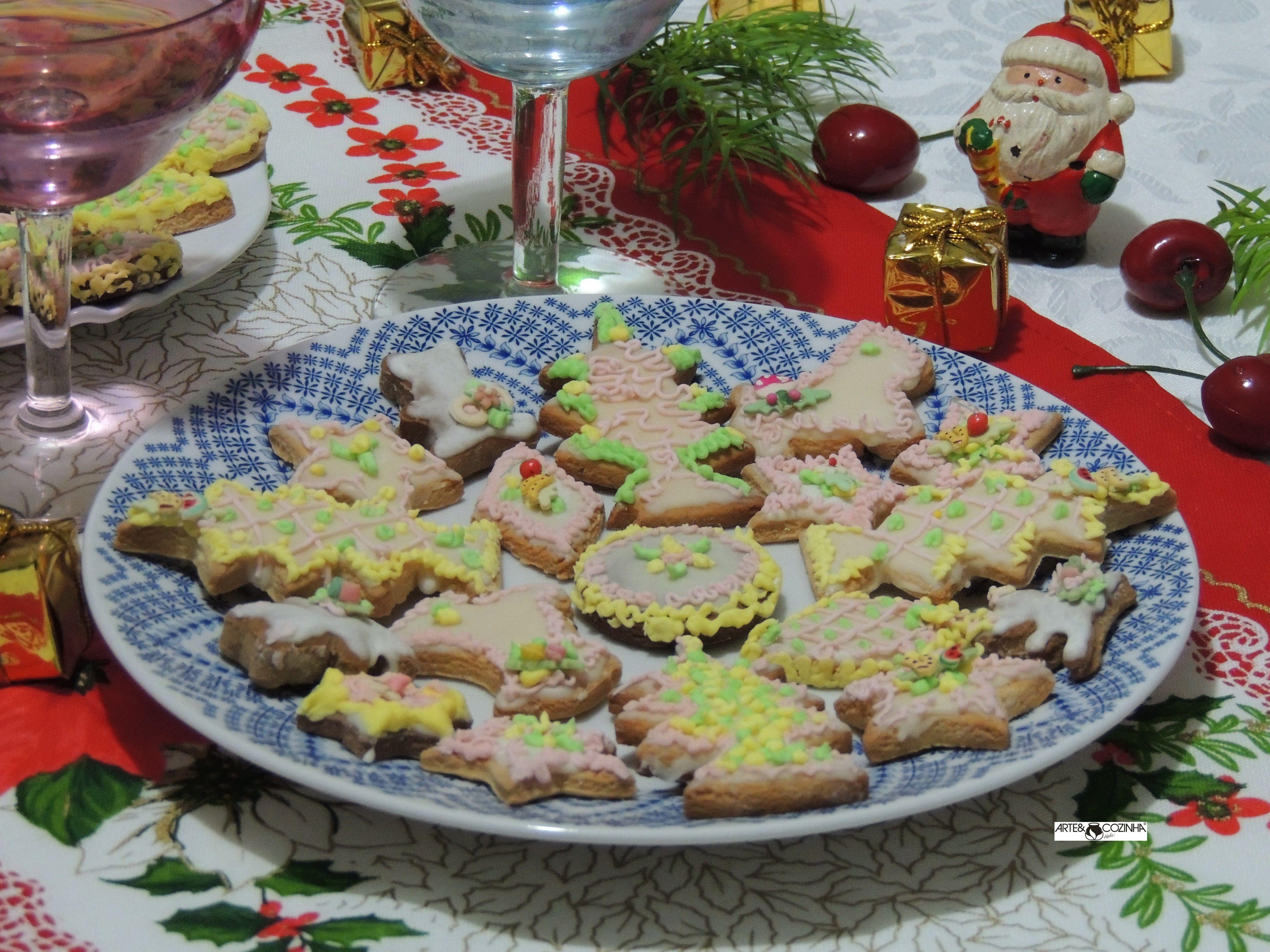 Biscoitos decorados por Heda Seffrin. Fotografia:Simone Seffrin