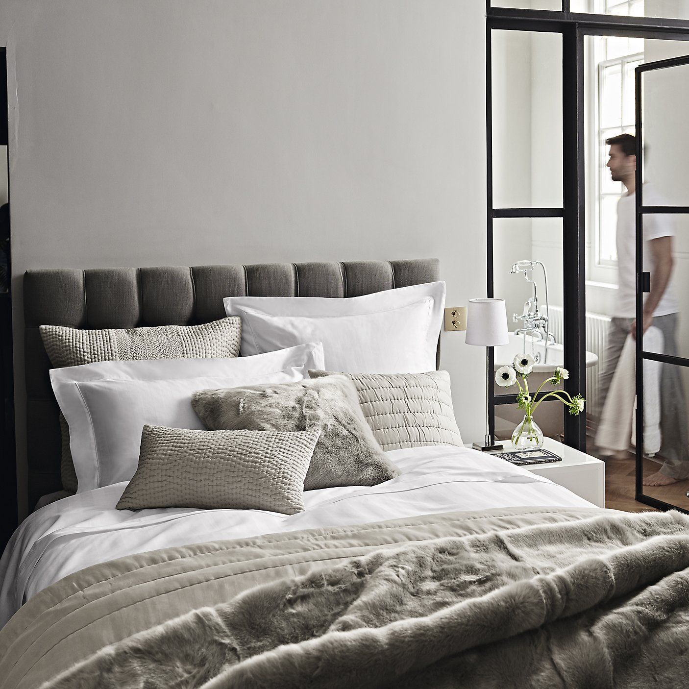 Albany Collection Silver The White Company Luxury