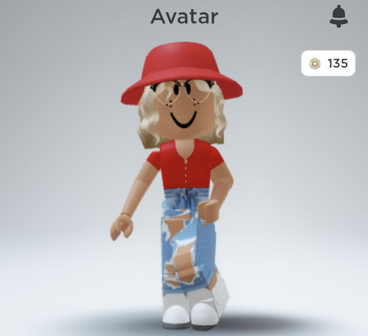 Adorable Trendy Aesthetic Red Themed Roblox Avatar Roblox funny