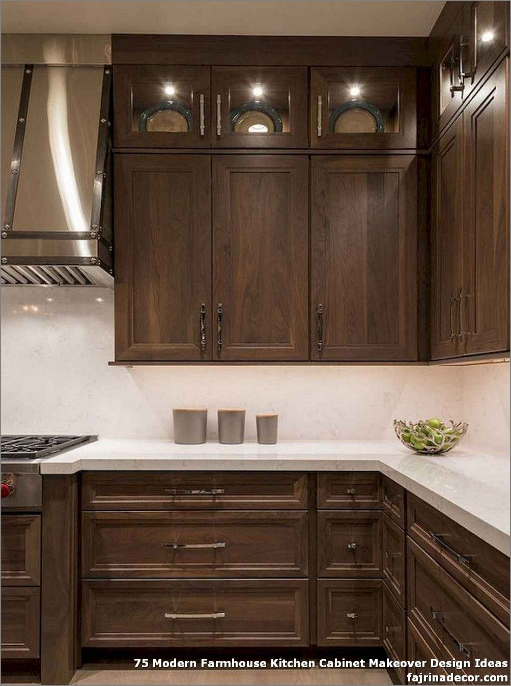 75 Modern Farmhouse Kitchen Cabinet Makeover Design Ideas Best Home Decorati In 2020 Farmhouse Style Kitchen Cabinets Kitchen Cabinet Styles Kitchen Cabinet Design