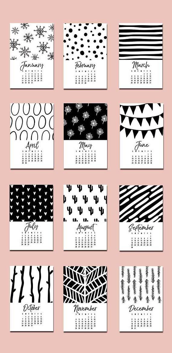 calendar 2018 printable 2018 wall calendar desk calendar 2018