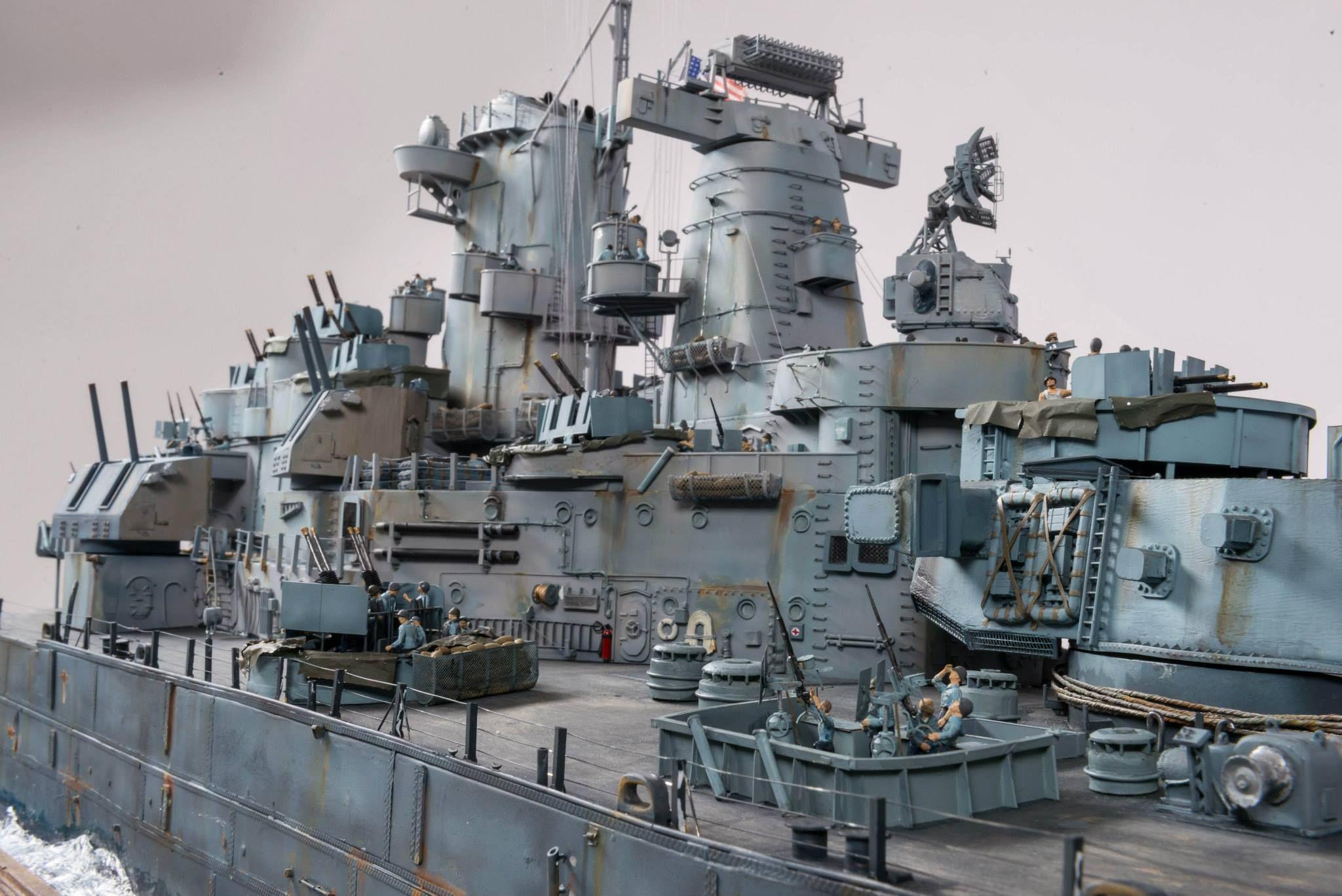 Uss missouri 1 72 scale model diorama ships wwi wwii pinterest maquettes de guerre et - Porte avion gi joe a vendre ...