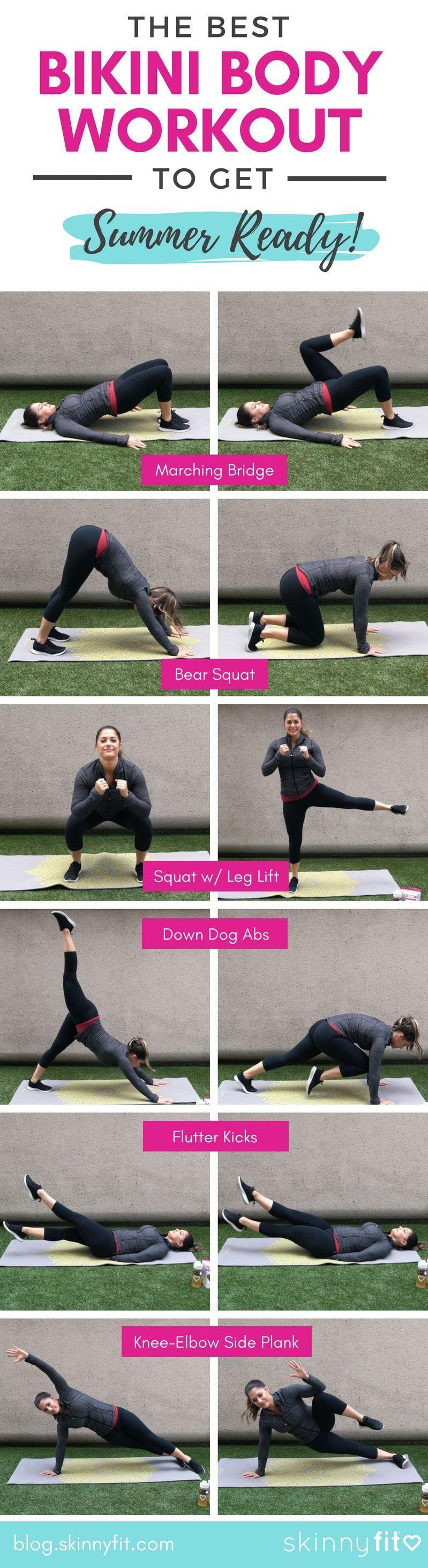 Bikini Ready Workout Bikini Body Workout Fitness Body Full Body Workout