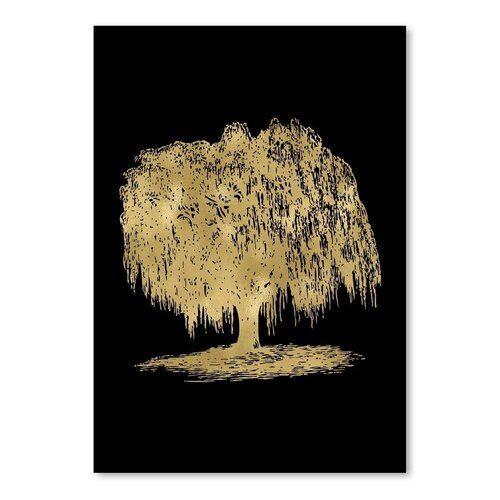 East Urban Home Poster Weeping Willow Tree by Amy Brinkman graphic print  amy