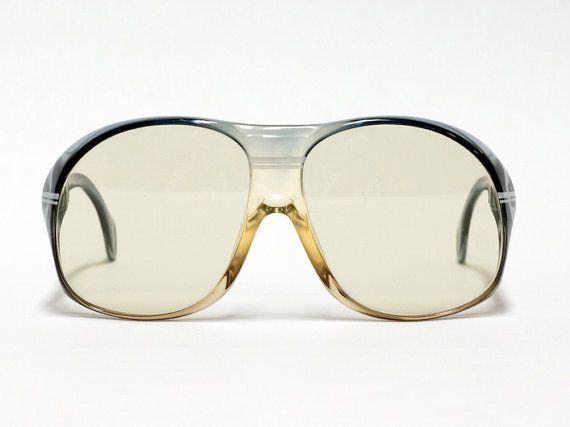 Oversized solid 70s Vintage Sunglasses by Marwitz Zeiss