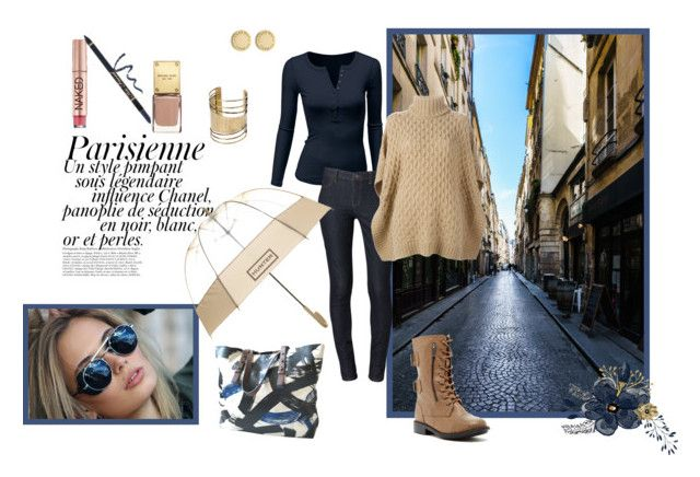 """""""City Streets #2"""" by tasha-blondeambition-real ❤ liked on Polyvore featuring Magdalena, Doublju, Calvin Klein, MICHAEL Michael Kors, Top Guy, Hunter, Marc by Marc Jacobs, MANGO, Urban Decay and Too Faced Cosmetics"""