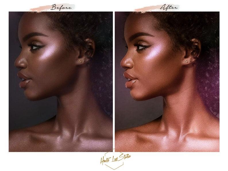 8 Melanin Beauty Presets Black Girl Magic Presets Chocolate Etsy Melanin Beauty Fair Skin Tone Brown Skin