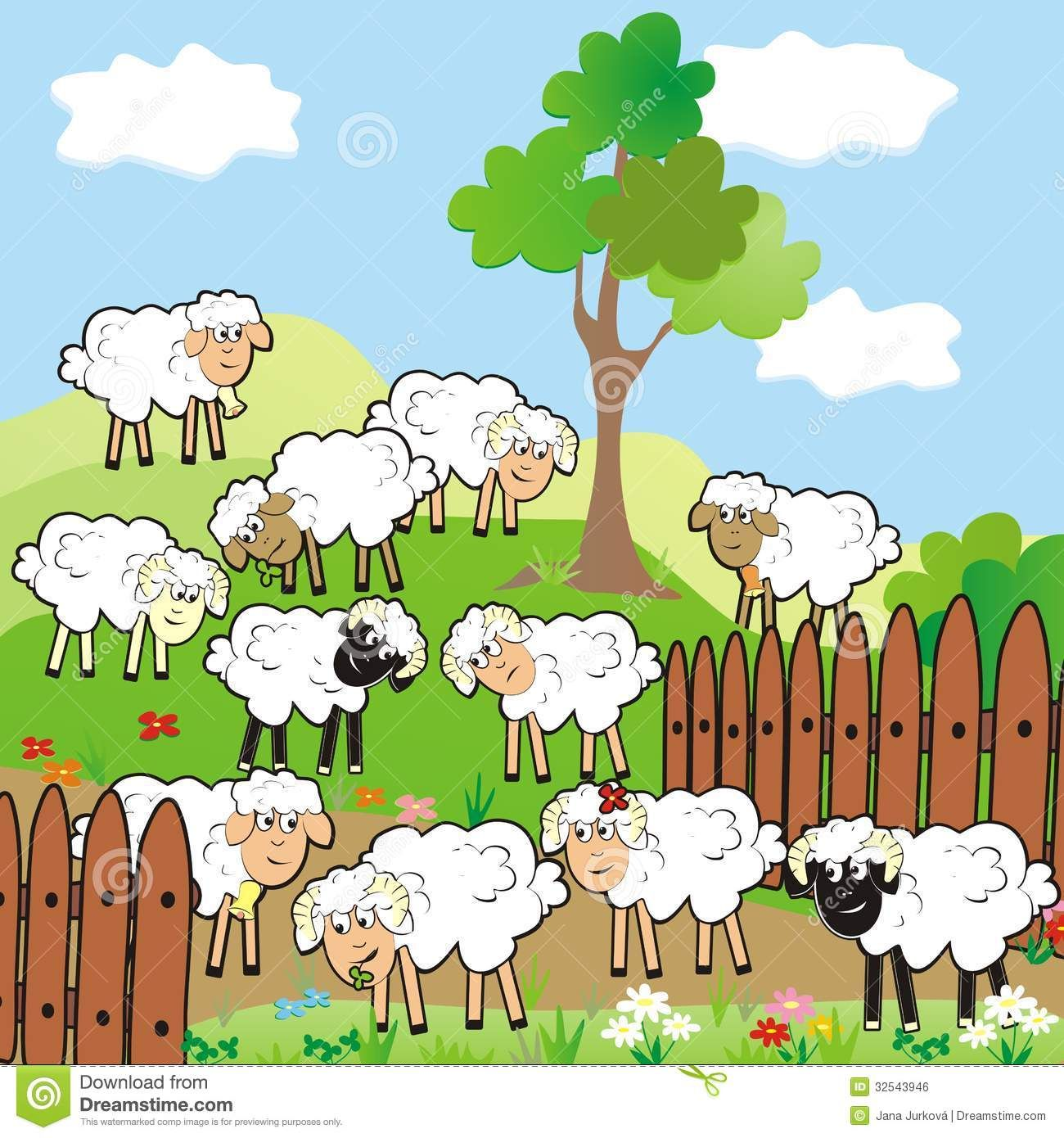 flock of sheep clipart - Google Search | freya | Pinterest