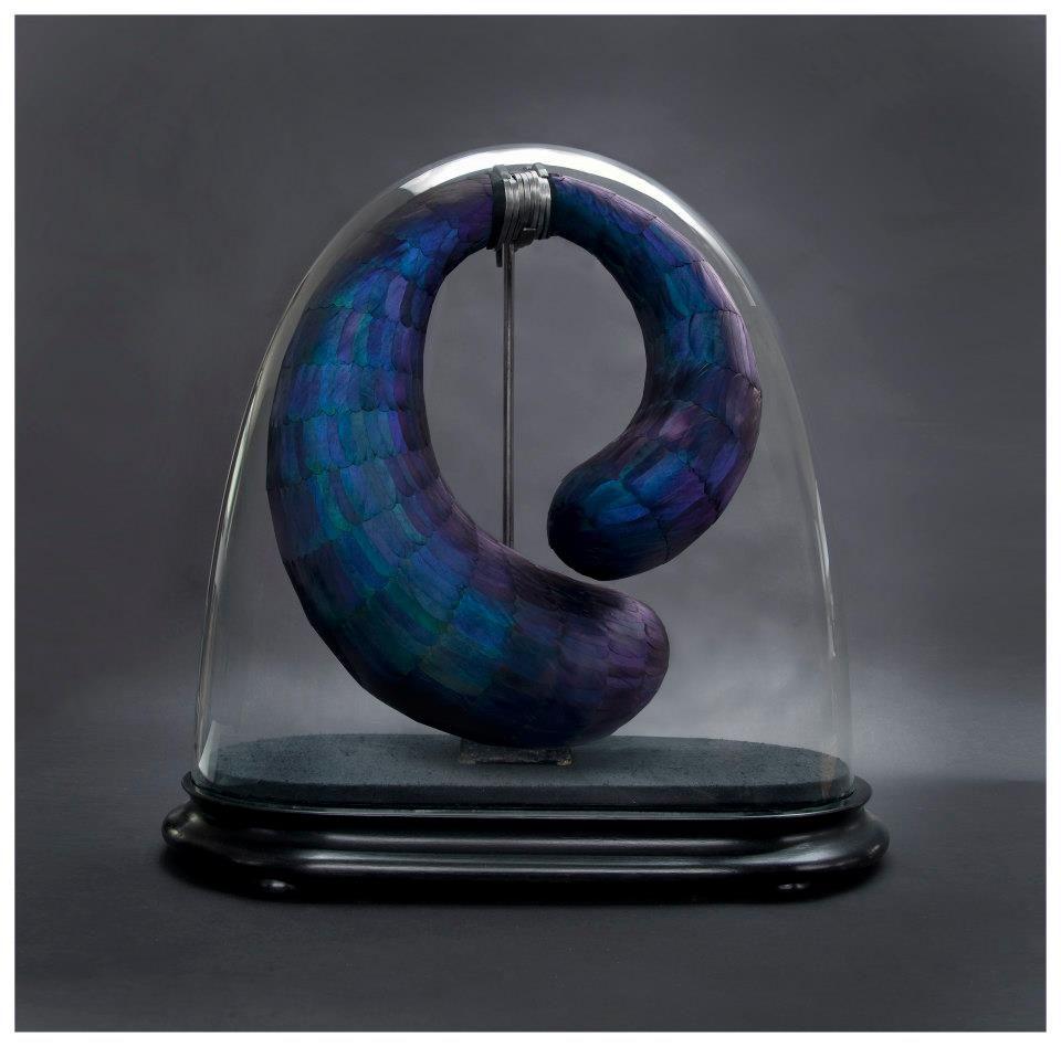 British sculptor Kate MccGwire