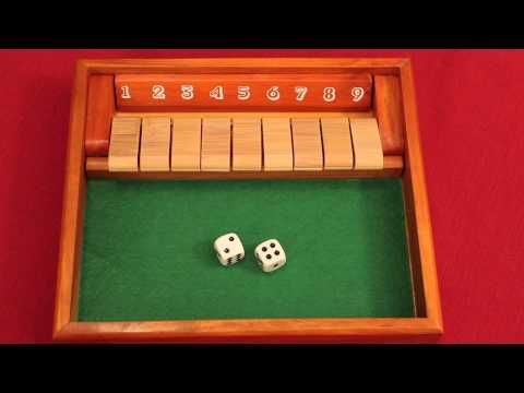 Shut The Box Board Game Review Youtube Game Reviews Board