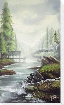 Gone Fishing by Ylaya