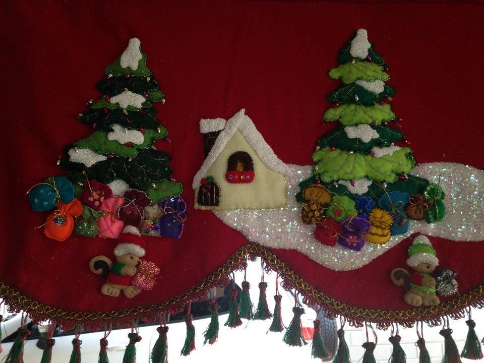 cenefa navideña llanet Pinterest Cenefa, Navidad y Cenefas