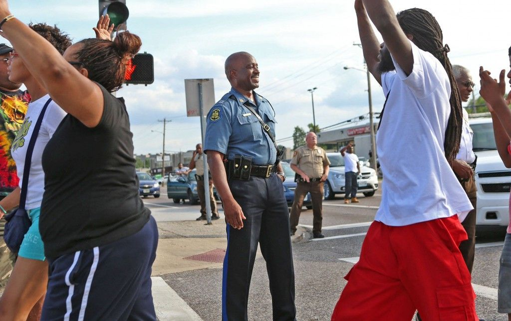 The response by the St. Louis County Police Department to protests in Ferguson, Missouri, following the shooting of Michael Brown, an unarmed teenager, by police officer Darren Wilson was to demonstrate the overwhelming force of a military occupation in an effort to intimidate the populace into submission. It served to do the opposite.