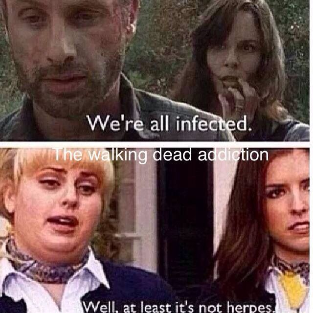 Were all infected