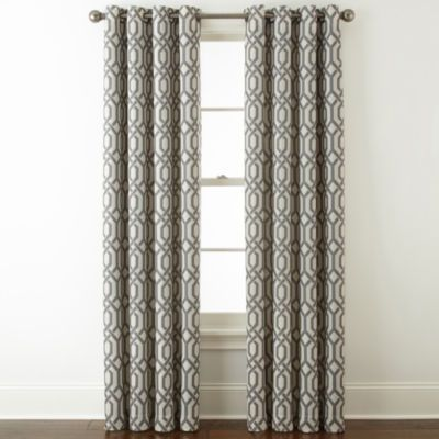 Buy Home Expressions Pasadena Print Blackout Grommet Top Curtain Panel At JCPenney Today And Enjoy Great Savings
