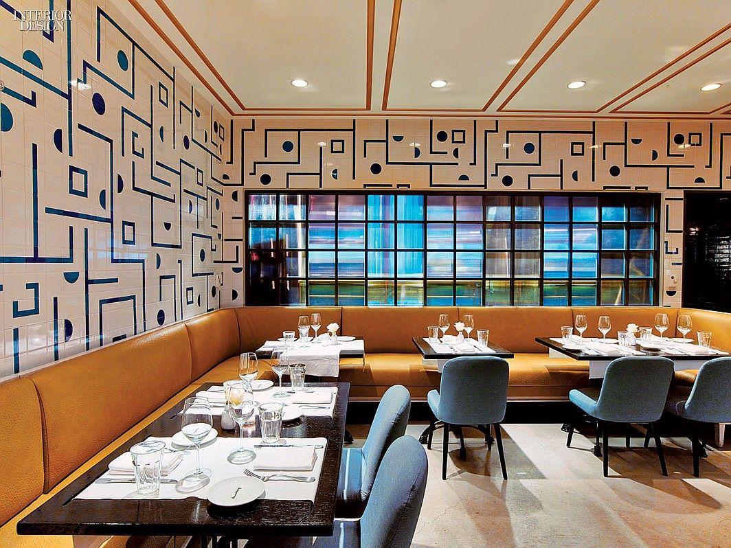 12 Nyc Restaurants Serve Up Hot Design Garment Districtnyc