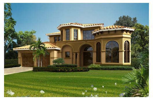 House 420 290 Mediterranean House Plans Mediterranean