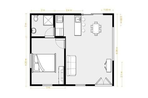 Converting A Double Garage Into A Granny Flat Google Search Garage Conversion Granny Flat Studio Floor Plans Granny Flat