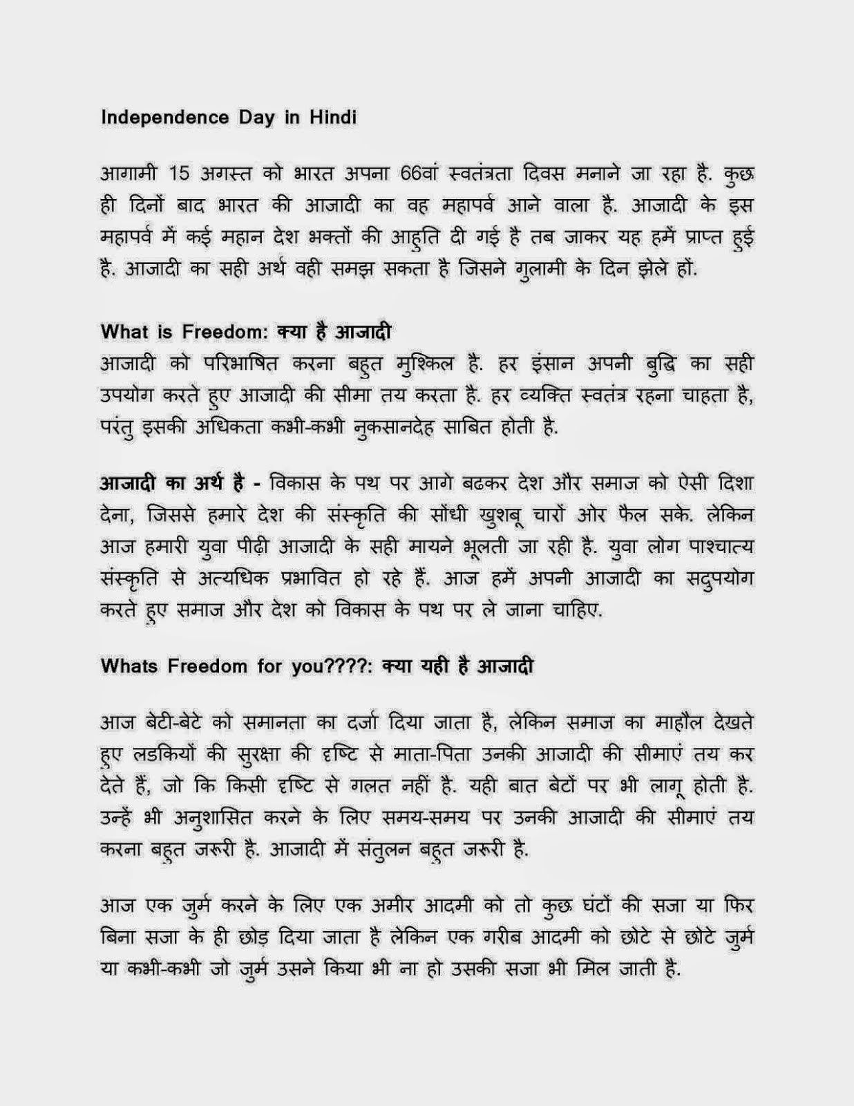 essay about independence day independence day essay in hindi independence day