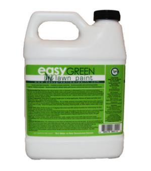 Easy Green Lawn Paint is the safest way to get your lawn from looking brown and dormant to lush and green. Environmentally safe, containing no harmful chemicals, it is safe for kids and pets to play o Price: $29.99.