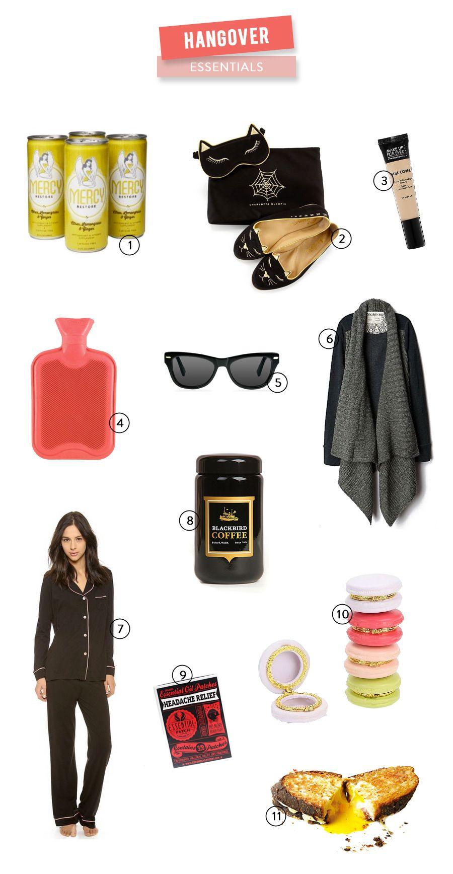11 Hangover Essentials Hangover essential, Wardrobe