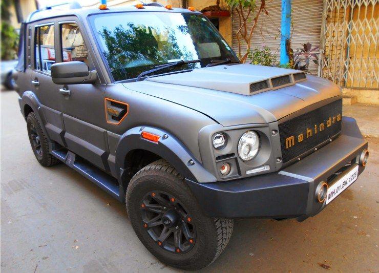 Mahindra Scorpio Dark Horse MAHINDRAIndian Cars Pinterest - Dark horse customs car show