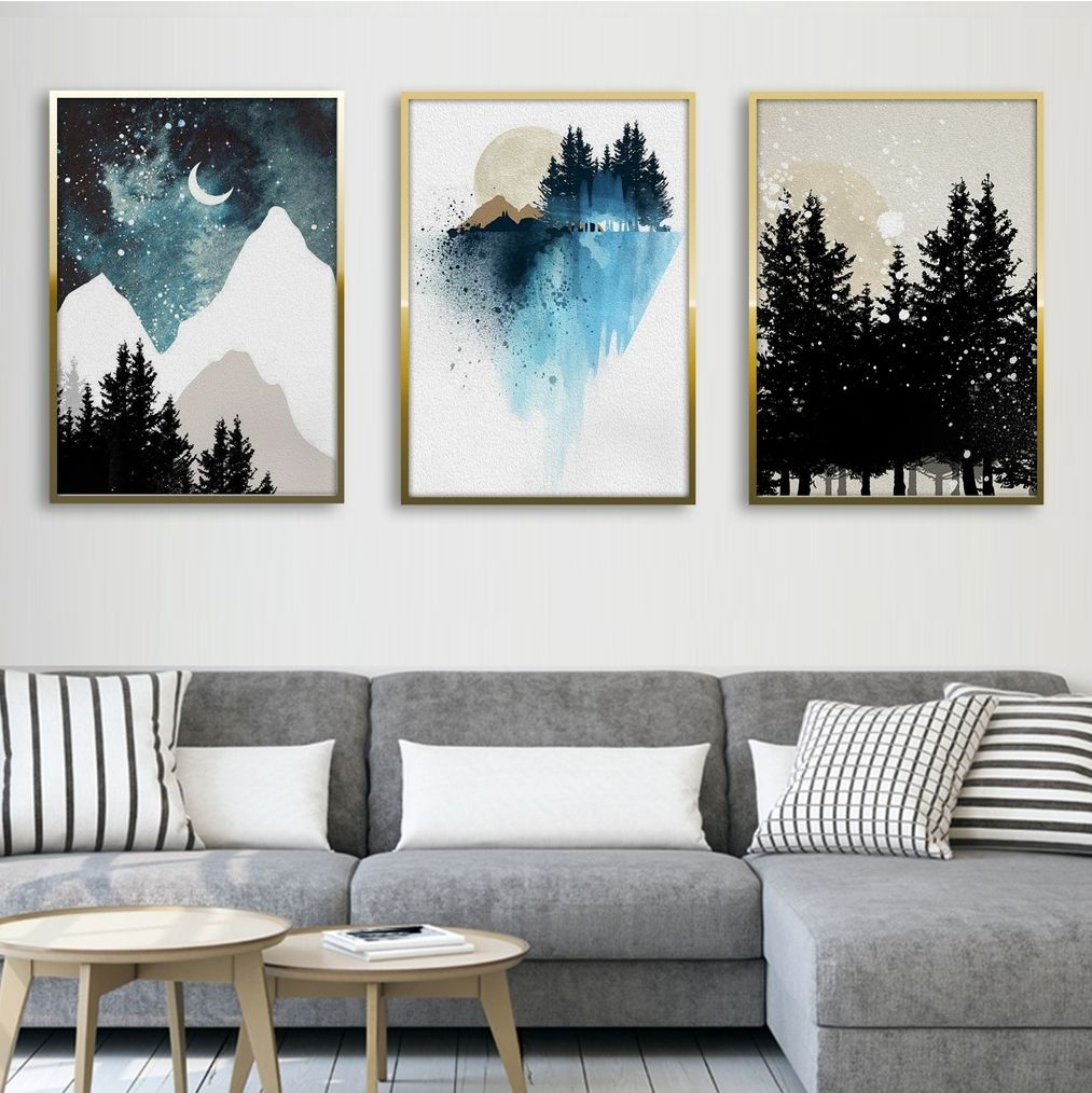 Home Decor Wall Art Watercolor Painting Of Art Print // Canvas Print Poster
