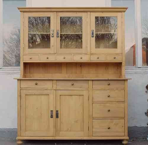 2019 b161s bufett b fett buffet geschirrschrank anrichte k chenschrank landhaus. Black Bedroom Furniture Sets. Home Design Ideas