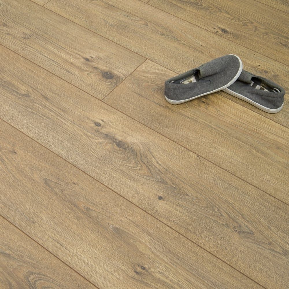 Luxury 12mm Laminate Flooring Florence Oak