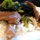 Beef Stir Fry - we omitted the broccoli tonight and added onions, mushrooms and red pepper.....so good!