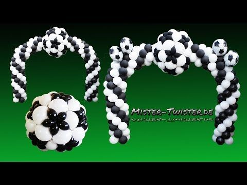 Balloon Football Arch Soccer Decoration Ballon Fussball