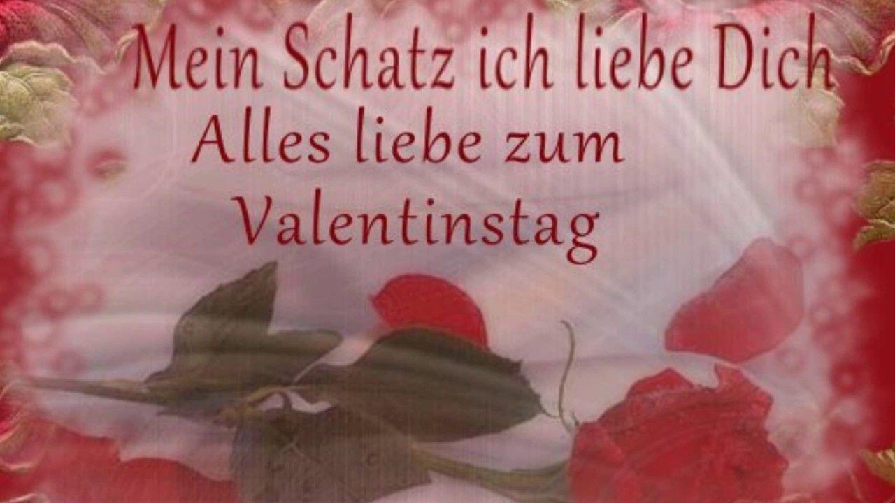 Alles Gute Zum Valentinstag Mein Schatz Mit Bildern Alles
