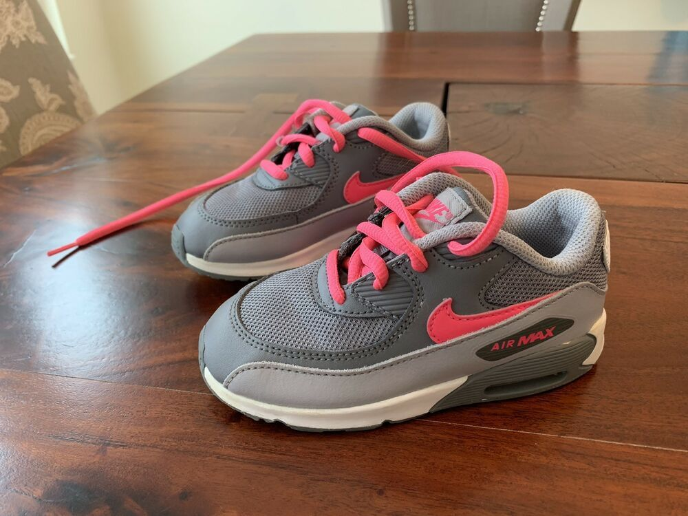 quality design 95b20 4e74b Toddler Nike Air Max Size 9C Childs Shoes Sneakers Gray And Pink  fashion   clothing  shoes  accessories  babytoddlerclothing  babyshoes (ebay link)