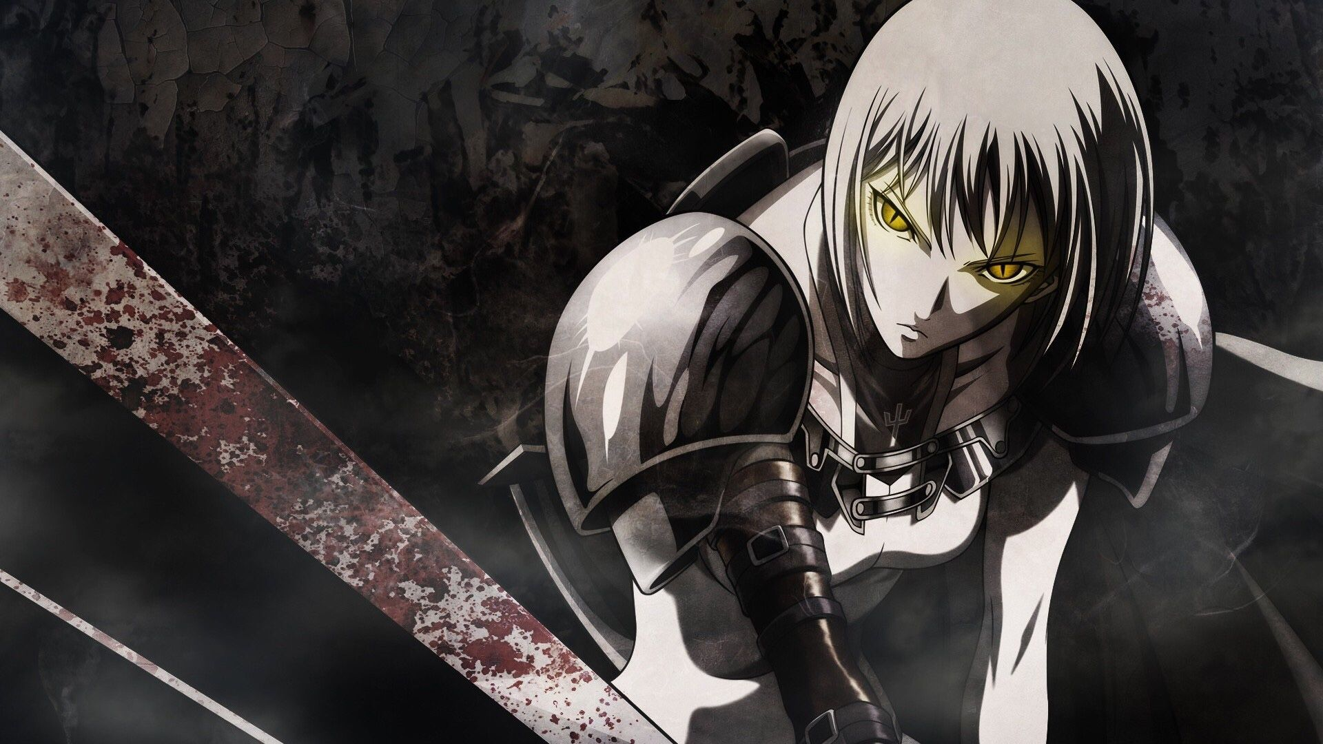 Claymore character of the night Clare Good anime series