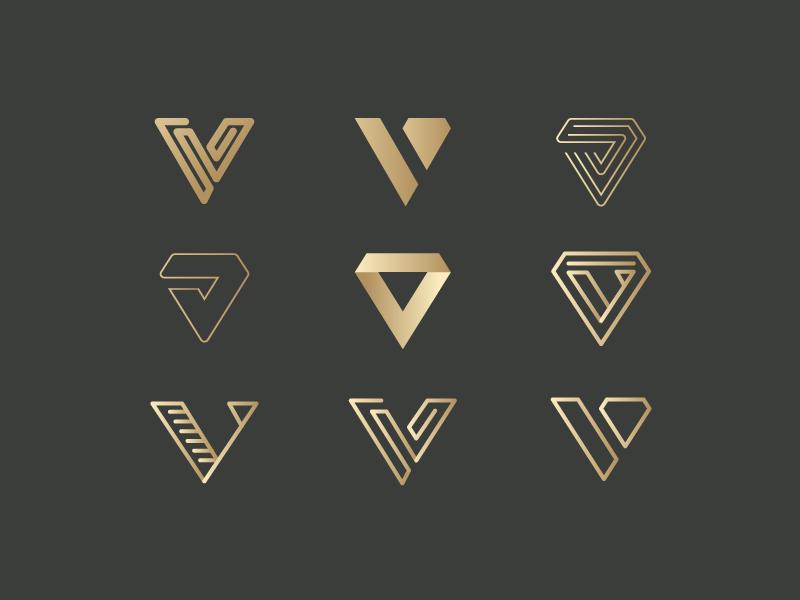 V for Vanquish logo Proposals | Shape | V logo design ...
