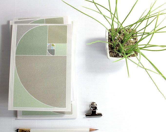 architect office supplies. A5 Notebook Golden Ratio Fibonacci, Sacred Geometry Personal Notebook, Office Supplies, Men Gift Architect Supplies 1