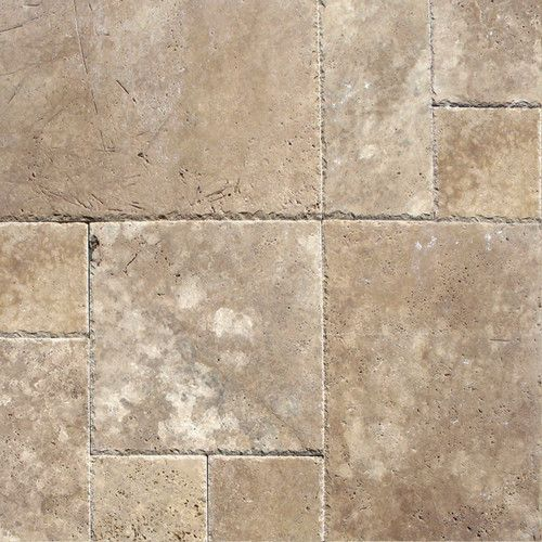 Found it at Wayfair - Tuscany Walnut Random Sized Travertine Tile in Unfilled and Chipped Brown