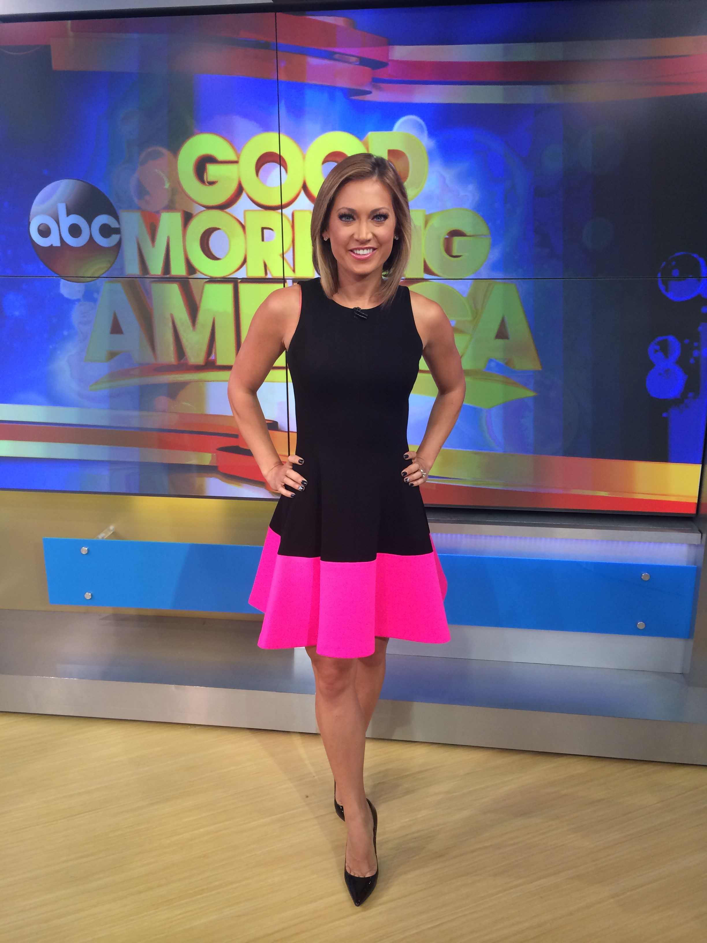 Discontinued Ikea Products List Good Morning America Ginger Zee Wardrobe This Dress Is