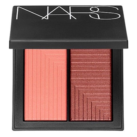 """NARS Dual Intensity Blush in """"Fervor"""" BRAND NEW, NEVER BEEN USED! Selling a NARS Dual Intensity Blush in """"Fervor"""" shade. An amazing blush duo in one compact for endless cheek looks. These dual-intensity blushes are perfect for a silky, wet or dry look and the formula/texture are very lightweight for a flawless finish and true color application. NARS Makeup Blush"""