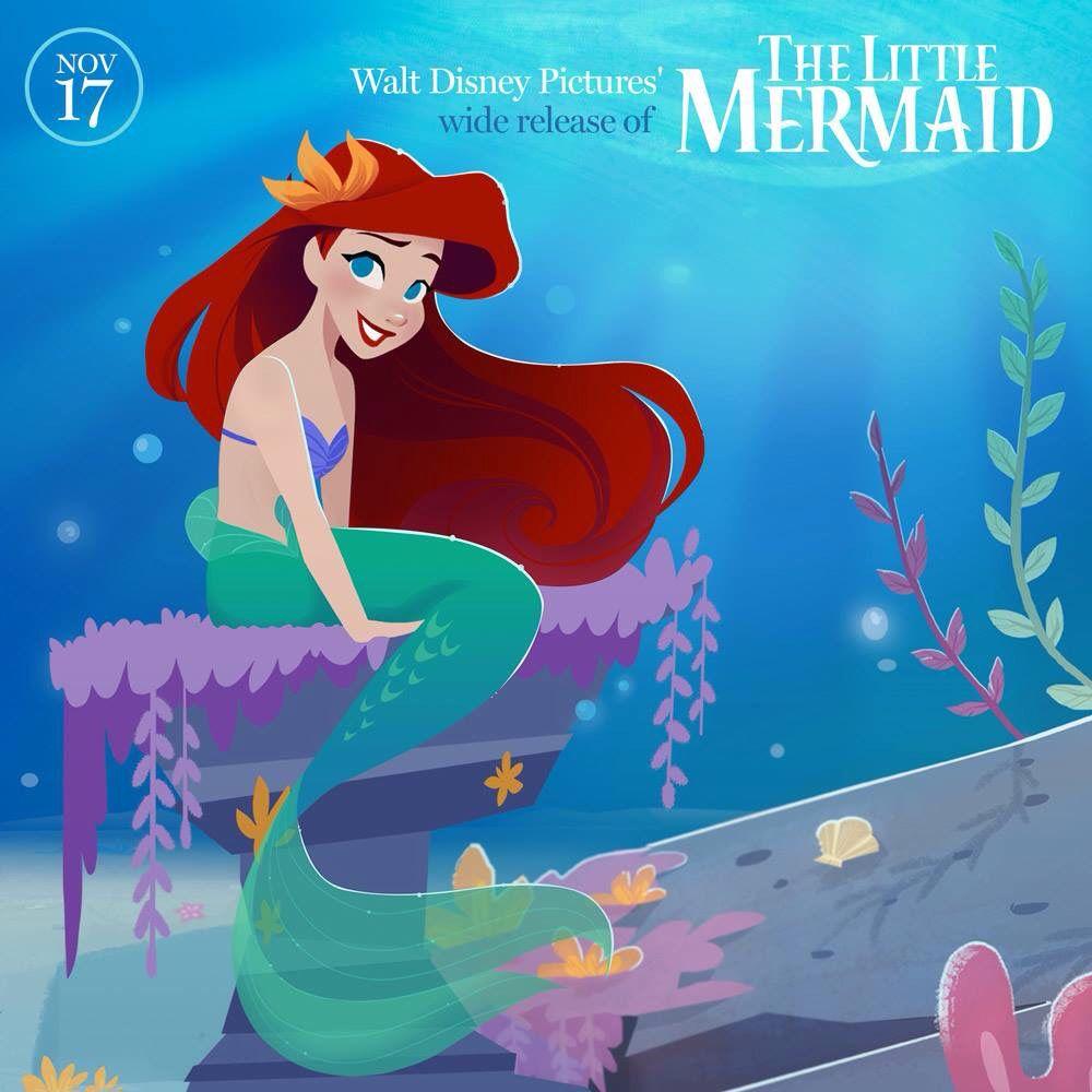 Little Mermaid Released November 17th 1989