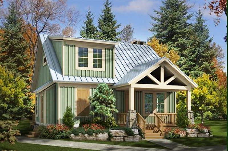 Plan 58550sv Adorable Cottage Cottage Homes Cottage House Plans Cottage