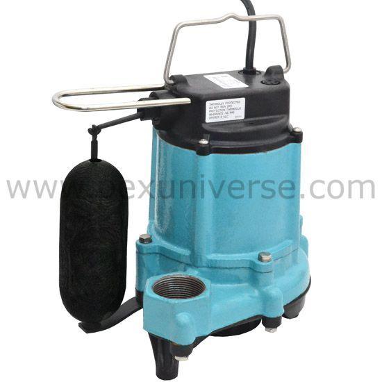6en Cia Sfs Automatic Sump Effluent Pump W Vertical Float Switch And 10 Cord 1 3 Hp 115v Effluent Pump Plumbing Pumps Sump Pump
