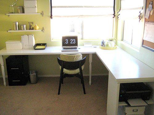 Diy Melamine Desk