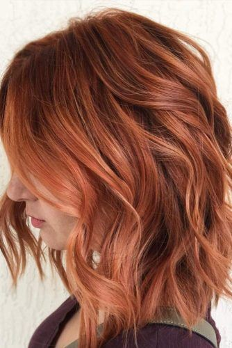 18 Medium Length Hairstyles For Thick Hair Hair Styles Hair Color Auburn Hair Inspiration Color