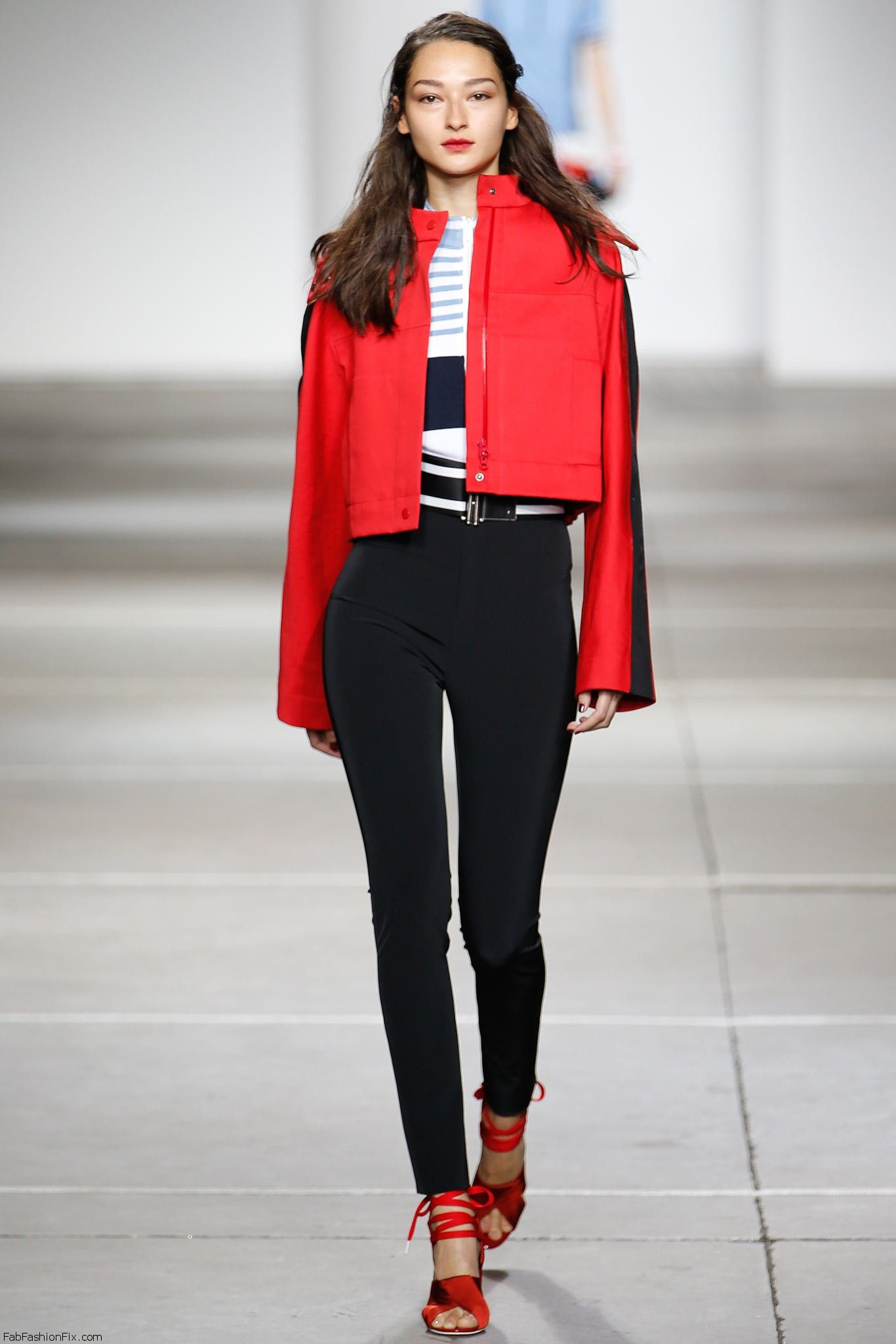 Bruna Tenorio for Topshop Unique spring/summer 2015 collection - London fashion week