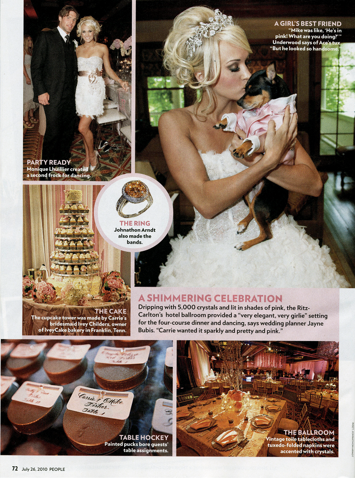 Carrie Underwood S Wedding Photos From People Magazine Carrie